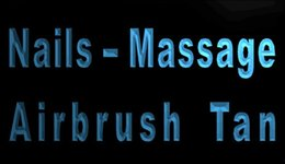 Wholesale LS1765 b Nails Massage Airbrush Tan Shop Neon Light Sign jpg