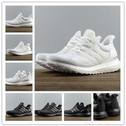 Cheap Ultra Boost 3.0 Triple Running Shoes for men women Ultraboost 3 Primeknit Runs Black White Casual Ultrals Boosts mens womens Sneakers