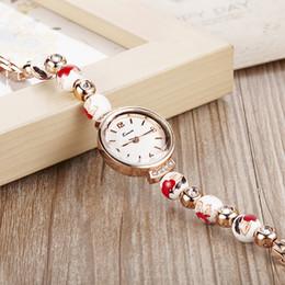 Relojes de lujo del estilo chino de la nueva relojes Reloj impermeable de las señoras de la cerámica del reloj de la pulsera del vestido del cuarzo de las mujeres con la caja desde mujer del estilo de reloj resistente al agua fabricantes