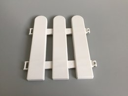 Wholesale D17 H19CM D6 H7 inch plastic barrier fence white garden supplies Small Fence Use for Indoor Decoration