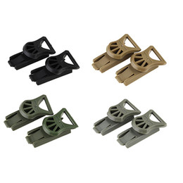 Outdoor Gear Airsoft Paintball Shooting Tactical Airsoft Fast Helmet Accessory OPS-CORE Swivel Clips 19mm Rotating Clamp