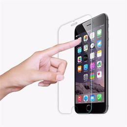 2017 iphone vidrio de alta calidad 1000pcs Protector verdadero superior templado de la pantalla de la película de la alta calidad para el iPhone 5S 6 6S 7 MÁS para el iphone 7 DHL libre iphone vidrio de alta calidad promoción