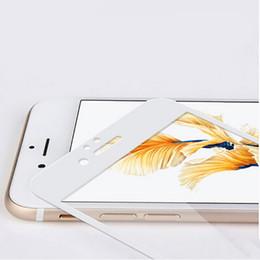 0.2MM 9H Protector completo de la pantalla de la cubierta para el iPhone 6 6S más 7 más película de cristal templada de alta calidad con el paquete high quality iphone glass for sale desde iphone vidrio de alta calidad proveedores