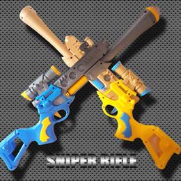 Wholesale Manufacturers selling children s electric toy gun sniper rifle music toy gun assault infantry gun cm