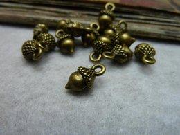 Wholesale mm Pine Cone Charm Antique Bronze Tone DIY Making