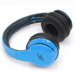 Sms street over ear earphones à vendre-SMS Audio STREET 50 Cent Noise Annuler DJ Headphone Wired Over Ear Headphones Gaming Bike Frame Headset Pour Iphone smartphone MP