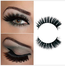 012 Black 100% Real Horse Hair Thick Fake Eye Lashes False Eyelashes false lashes natural Horse hair natural short thick cross messy