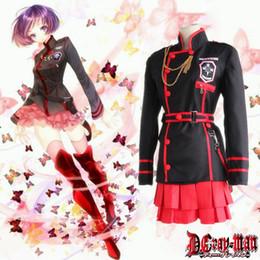 Linali Lee cosplay costumes uniform Japanese anime D.Gray-man clothing Masquerade Mardi Gras Carnival costumes