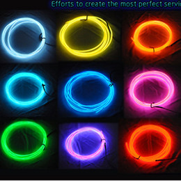 3m EL decorative strip light car interior lights ambient lighting retrofit body trim interior led cold light