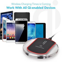 Universal 5V1.5A Qi Wireless Charger Charging Pad Receiver Phone Wireless Charging For Apple iphone 6 Samsung Android Phone charger