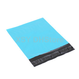 """100 PCS Blue Plastic Mailing Bag Non-Padded Envelope Shipping Mailer Width 110 - 320mm (4.3"""" to 12.5"""") Length 180 - 390mm (7 to 16 Inches)"""
