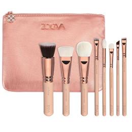 8pcs professional makeup brushes classic bag cheap make up brushes rose gold luxury set