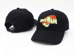 Wholesale Fashion Baseball Caps black hat micheal snapback baseball cap Lebron Jordans movie Space jam hip hop hats