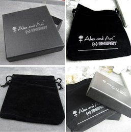 Wholesale Alex and Ani Bangle Box And Velvet Bag Alex Ani Packaging Display Jewelry Boxes