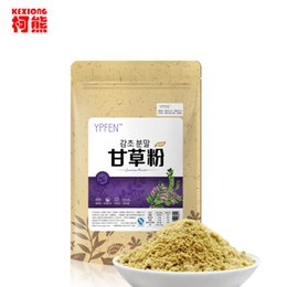 Wholesale C TS022 New Arrival g Top Grade Purely Natural Organic Liquorice Extract Powder Licorice Root Herbal Tea