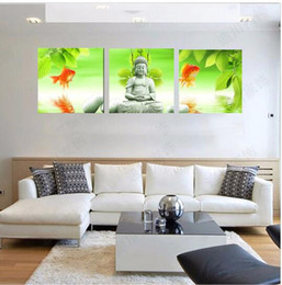 Hot Canvas Painting Buddha Home Decor Oil Painting on Wall for Living Room Wall Art Pictures Canvas Painting