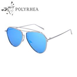 2017 espejo de cristal clásico 2017 La nueva clásica HD polarizada gafas de sol piloto piloto de marco de metal de calidad superior gafas de sol espejo de cristal clásico limpiar