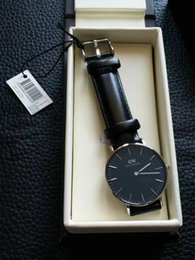 Wholesale DW Wellington watch fashion mens watches luxury women hong kong mechanical watches mm ladies wrist watches wristwatch