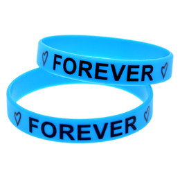 Wholesale 99PCS Lot Best Friends Forever Silicone Wristbands Inspirational Bracelet Great To Used In Any Benefits Gift