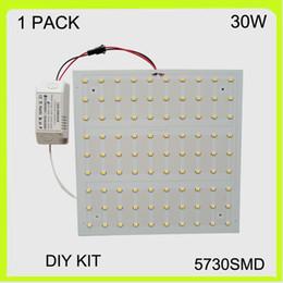 Square easy install 30W surface led ceiling light kits mounted techo de LED ceiling light board LED panel 22*22cm 220V for adversing light