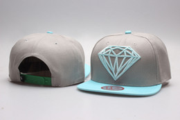 snapback grey blue Diamond Supply Co. classic Snap back Hats street hats baseball caps Are The Most Of Head Wear Now YP_5092