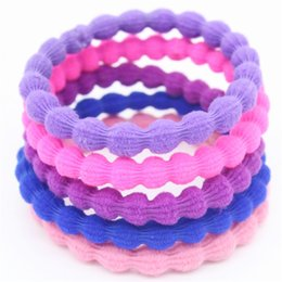 2017 New Jewelry 5 Colors Hair Accessories Hair Rubber Bands Multicolor Elastic Hair Jewelry For Women