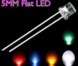 MIX Flat Top 5mm LED Diode Red Green Yellow Orange Pink Purple Color