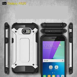 FOR Samsung Galaxy A3 A5 A7 2017 J7 PLUS S9 S9 PLUS A5 2018 A8 2018 Armor Hybrid Defender Case TPU+PC Shockproof Cover Case 50PCS LOT