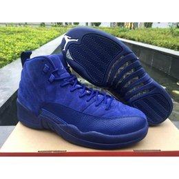 Wholesale Jordan Air ReTro Basketball Shoes PRM Deep Royal Blue Jordans Retro s Deep Royal Blue Sneakers With Box AJ AJR