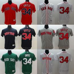 Wholesale MLB Boston Red Sox jerseys FlexBase baseball Jerseys ORTIZ PRICE PEDROIA navy red grey white drop freeshipping