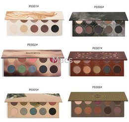 Wholesale All Series ZOEVA Eyeshadow Palette NATURALLY YOURS Smoky cocoa blend rose golden RODEO BELLE gillter matte eyeshadow palette Christma Gift