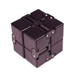 Infinity Cube New finger toys Fidget cube ADHD anti anxiety Stress Decompression Luxury EDC mutiple angles plastic mini magic Cube