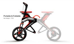 Wholesale Robstep X1Sports Edition Bluetooth Foldable electric bicycle Pit Bike Brushless DC KM