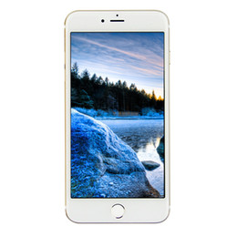Promotion pouces 1gb Cheap 256 Go 128 Go 3G WCDMA Goophone i7 Quad Core MTK6580 1 Go 8 Go + 32 Go Android 6.0 Marshmallow 4,7 pouces IPS 1280 * 720 HD GPS WiFi Téléphone intelligent
