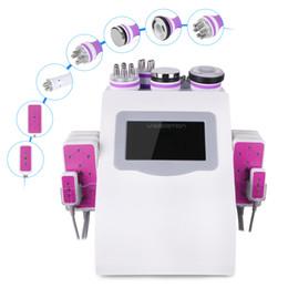 Super Slimming Body Shaping Cavitation Vacuum Bipolar Multipolar RF Lipo Laser Slim fat loss Machine Spa
