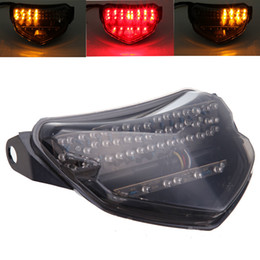 Integrated LED Smoke Tail light Turn Signals For SUZUKI GSXR 600 750 2004-2005