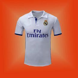 2017 Thai Quality Reals Madrid jersey 2017 Ronaldo Soccer jersey MODRIC BALE KROOS ISCO BENZEMA football shirts Camisa JAMES jersey