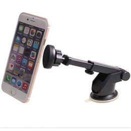 Toney Magnetic Adjustable Long Arm Rotatable Car Mobile Phone Holder for iPhone Table Mobile Phone Sucking Stand Holder for Huawei