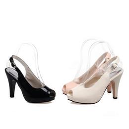 Promotion chaussures habillées pour les femmes prix Grossiste prix d'usine de livraison gratuite chaud vendeur nouveau style peep toes en cuir verni haut talon chaussures de mariage chaussures 190