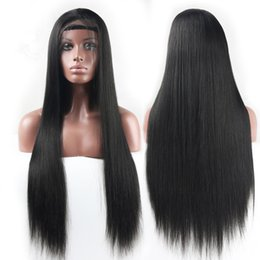 Wholesale Top Quality full lace wig 24inch #2 darkest brown silk straight 100% Indian remy human hair