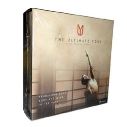 Wholesale The Ultimate Yogi DVD Cheap Yogi Fitness Workout DVDs Set Hot Sale Bodybuilding Exercise Video Disc top workout dvds
