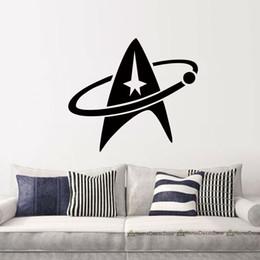 Hot Sale Personality Star Trek Sign Vinyl Art Wall Stickers Decal Living Room Bedroom New Design Art Decor Mural