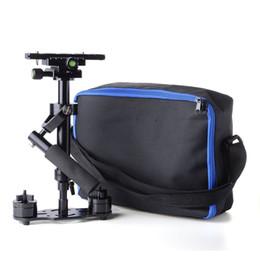 Direct d'usine! S40 Stabilisateur de poche Pro version pour appareil photo Vidéo DV DSLR pour Nikon pour Canon, Sony, Panasonic (noir) supplier dslr video pro à partir de dslr video pro fournisseurs