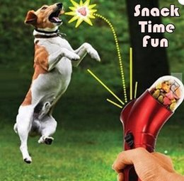 Wholesale Pet Food Launcher Dog Feeder Training Award Fun Launcher Cat Dog Interact Game Toy Fun Snack Time Your Best Choice