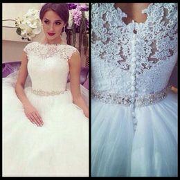 Robe De Mariage 2020 Princess Wedding Dresses Romantic Ball Gown Wedding Dresses Lace Vintage Bridal Vestido De Novia