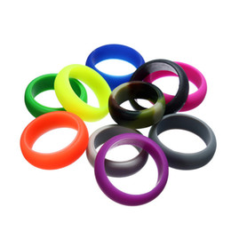 Canada Silicone Wedding Rings for Men Femmes Sports Enthousiaste Multi Color Choice Vente en gros Offre
