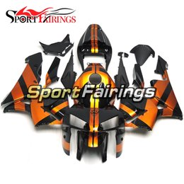 Complete Injection Fairings For Honda CBR600RR F5 2005 2006 05 06 ABS Motorcycle Fairing Kit Bodywork Motorbike F5 Cowlings Orange Black New