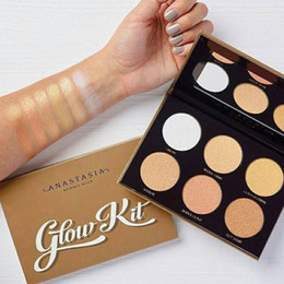 Wholesale Glow Kit Ultimate Glow Palette Colors High Quality Ana Bronzers Highlighters Palette Face Makeup Blush Powder