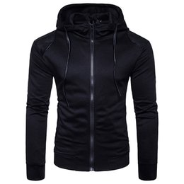 Mens Cardigan Tracksuit For Hoodie Mens Sweatshirt For Black Fashion Casual long sleeve Sweater For teenagers Drop Shopping