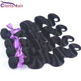 Promotion cheveux ondulés tisse pour les femmes noires Prix imbattable 1kg Cheveux humains tissés ondulés en gros Unprocessed Body Wave Malais Packs de cheveux Cheap 10-28 Inch for Black Women